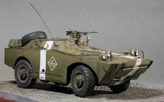 Бронированная разведывательно-дозорная машина БРДМ (ГАЗ-40П) (СССР)