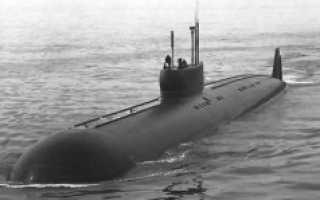 Атомные подводные лодки пр.661 (СССР)