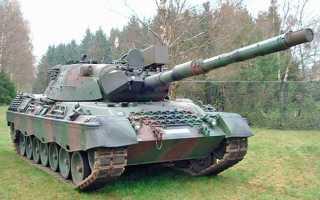 Основной боевой танк Leopard 1 (Германия)