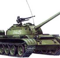 Средний танк Т-54Б (СССР)