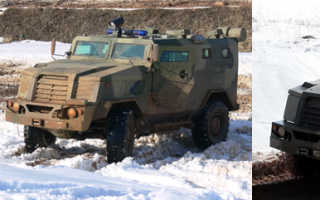 Бронеавтомобиль ВПК-3924 СПМ-3 «Медведь» (Россия)