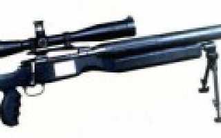 Снайперская винтовка Stopson под патрон 12,7×57 (Франция)