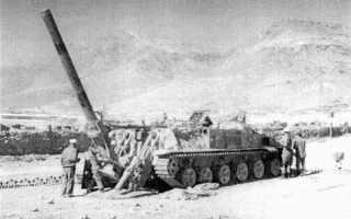 Самоходный миномет 2С4 Тюльпан (СССР)