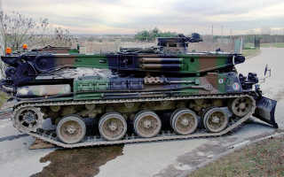 Зенитная самоходная установка AMX DCA-30 (Франция)