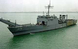 Танкодесантный корабль «Newport» (США)