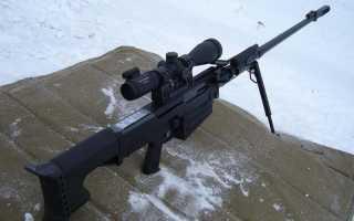 Опытная снайперская винтовка 14,9 mm SOP (США)