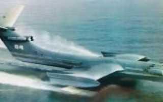 Экспериментальный экраноплан «КМ» (Корабль-макет) (СССР)