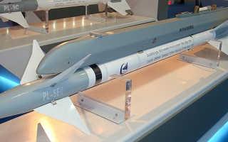 Авиационная управляемая ракета PL-5 (Китай)
