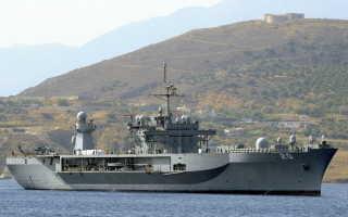 Штабной десантный корабль типа «Blue Ridge» (США)