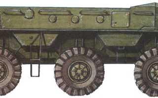 Опытный бронетранспортёр ЗИЛ-153 (СССР)