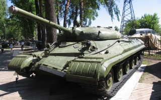 Опытный танк «Объект 757» с ПТРК «Кобра» (СССР)