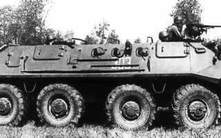 Бронетранспортёр БТР-60П (ГАЗ-49) (СССР)