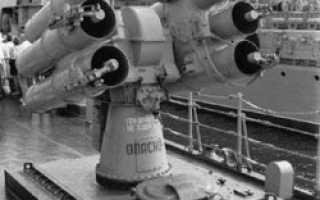 Противолодочная система РБУ-1000 «Смерч-2» (СССР)