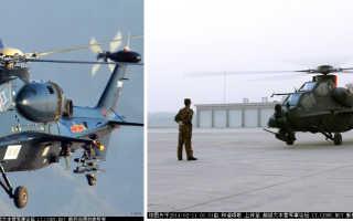 Боевой вертолёт Changhe Z-10 (Китай)