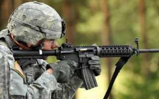 Промежуточный патрон 5.56x45mm NATO (США)