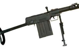 Специальный карабин бесшумной стрельбы «Изделие ДМ» «Буря» (СССР)