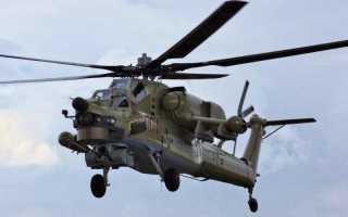 Учебно-боевой вертолёт Ми-28УБ (Россия)