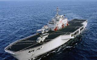 Десантный вертолетный корабль-док типа «San Giorgio» (Италия)