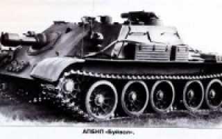 Опытный АПБНП «Объект 610» «Буйвол» и САУ со 122-мм пушкой М-62 (СССР)