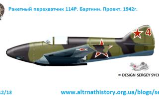 Проект перехватчика Успенского (СССР)