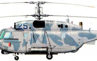 Транспортно-боевой вертолет Ка-29 (СССР)