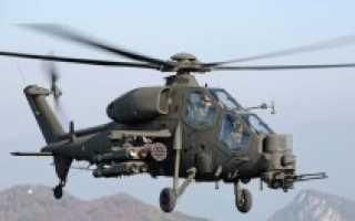 Вертолёт Agusta-Westland AW129 «Mangusta» (Италия)