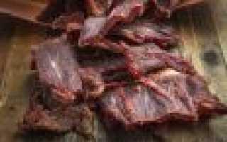 Как приготовить сушёное мясо для долгого хранения
