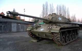 Лёгкий танк M41 Walker Bulldog (США)