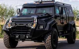 Бронеавтомобиль AZCAN Sentry (Азербайджан)