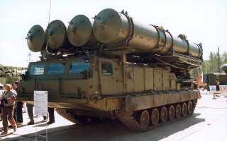 Зенитно-ракетная система 9К81 С-300В (СССР)