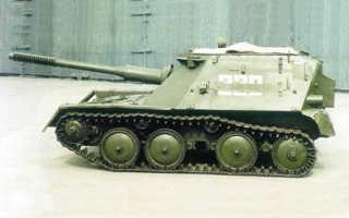Самоходная артиллерийская установка АСУ-57 (СССР)