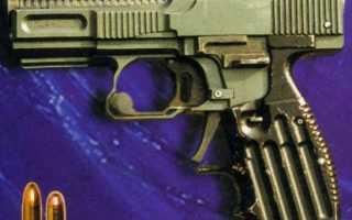 Опытный пистолет Шевченко ПШ (Украина)