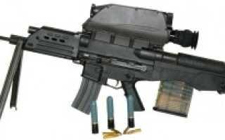 Перспективная штурмовая винтовка XK11 (Южная Корея)
