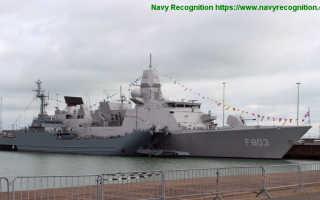 Головной фрегат типа «Tromp» (Нидерланды)
