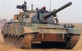 Основной боевой танк Type 88 (ZTZ88) (Китай)