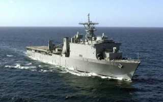 Десантный транспорт-док типа «Whidbey Island» (США)