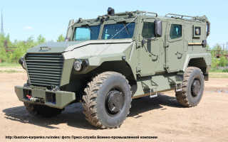 Бронеавтомобили семейства «Атлет» АМН-1, АМН-2 и АСН (Россия)