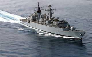 Головной фрегат Type 22 Batch 1 «Broadsword» (Великобритания)
