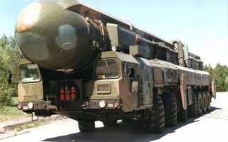 Стратегический ракетный комплекс РТ-2ПМ2 «Тополь-М» (Россия)