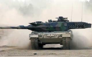 Основной боевой танк Leopard 2A7+ (Германия)