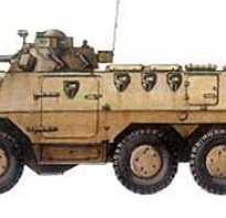Бронеавтомобиль FSV 90 Ratel