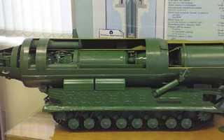 Проект малогабаритной МБР «Гном» (СССР)
