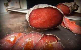 Бресаола. Итальянский рецепт сушеного и солёного мяса