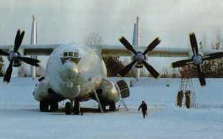 Военно-транспортный самолет Ан-22 Антей (СССР)