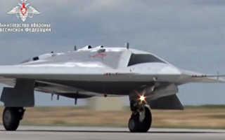 Ударно-разведывательный беспилотный комплекс С-70 «Охотник» (Россия)