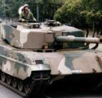 Опытный танк TTD (ЮАР)