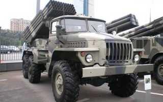 Реактивная система залпового огня «Град» (СССР)