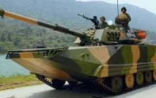Лёгкий плавающий танк Type 63A (Китай)