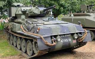 Легкий разведывательный танк FV101 Scorpion (Великобритания)