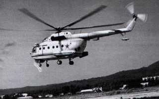 Вертолет-буксировщик минных тралов Ми-14БТ (СССР)